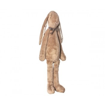 Peluche Soft Bunny chocolate (Medium)
