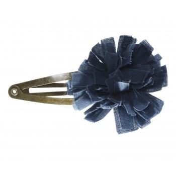 Horquilla clips flor Azul