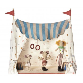 Circus tent with mice