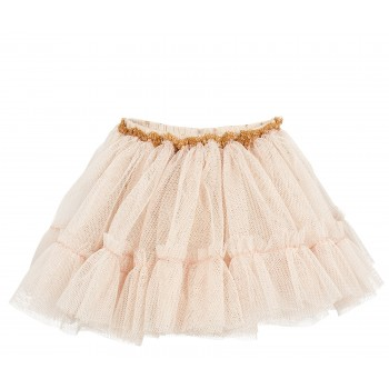 Tulle skirt rose (Maxi)