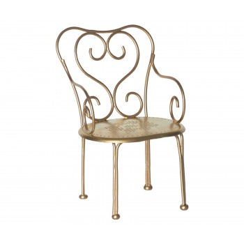 Romantic chair Gold vintage (mini)