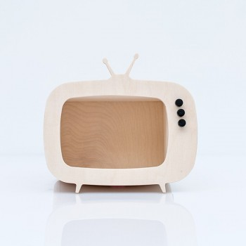 TV shelf display natural (Mini)
