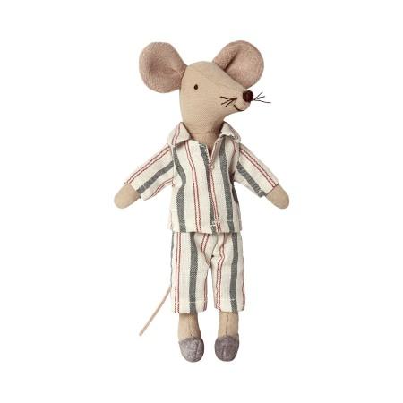 Muñecos ratoncitos Papa y Mama en caja