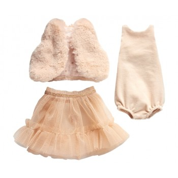 Best Friends Ballerina dress, rose