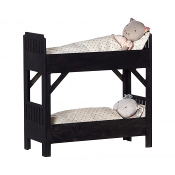 Bunk bed large black