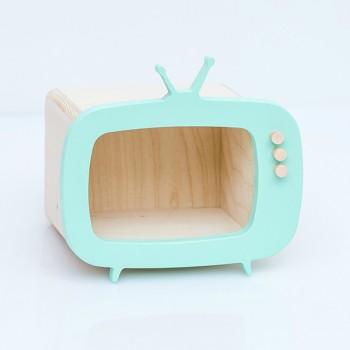 TV shelf display mint (Mini)