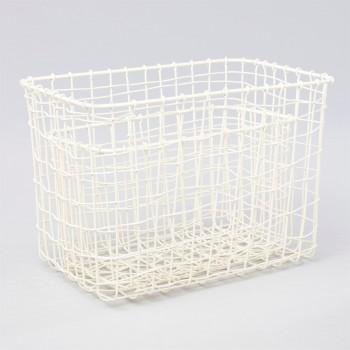 Wire mesh basket cream (2u.)