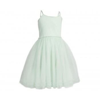 Princess tulle dress powder Size 6-8