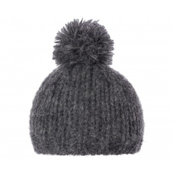 Best Friends knitted hat grey