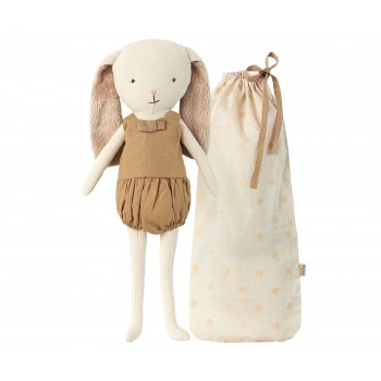 Bunny Bell in bag, Gold