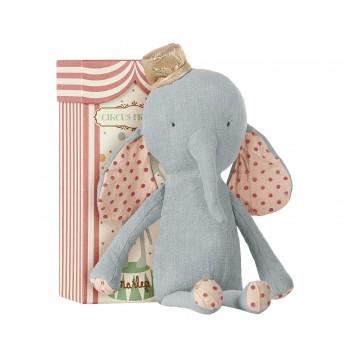 Muñeco peluche elefante Azul.