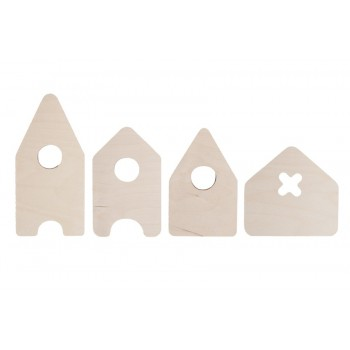 House wooden deco