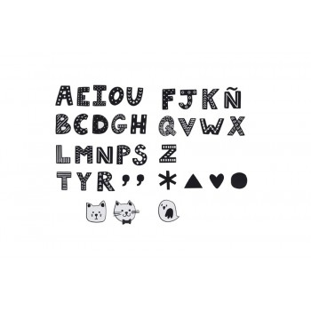 Vinyl, ABC KIDS black