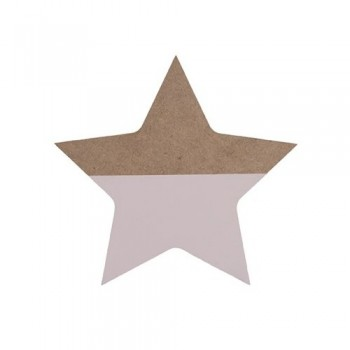 Rose wooden star