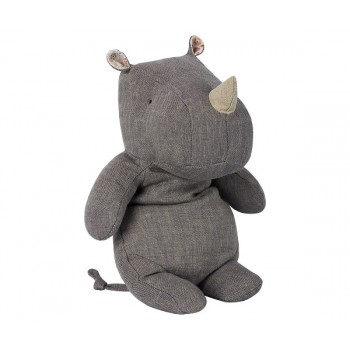 Peluche rinoceronte, Gris (medium)