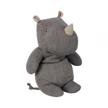 Peluche rinoceronte, Gris (medium)