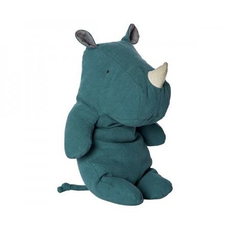 Peluche rinoceronte, Verde oscuro (medium)