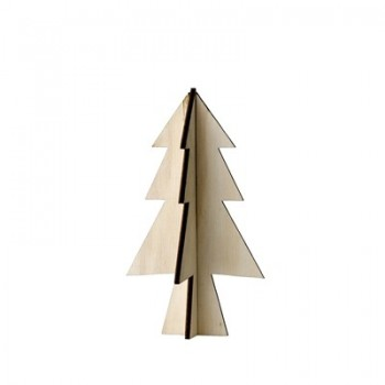 Árbol  Navidad de madera.