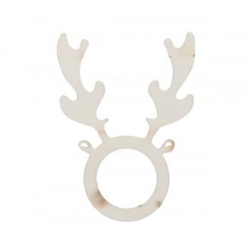 Xmas napkin holder, reindeer
