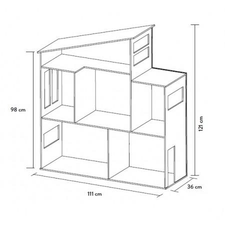 Transporte casa de madera
