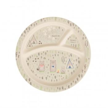 Bear Camp Kid's Plate