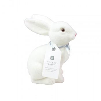 Conejito blanco lazo