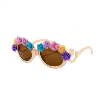Gafas de sol flores