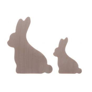 Easter Rabbits 2. Set of 2