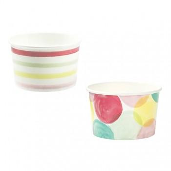 Vasos papel para helados Colores (10 u.)