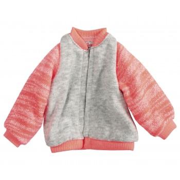 Medium, jacket, coral
