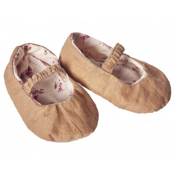Medium, Gold Shoes