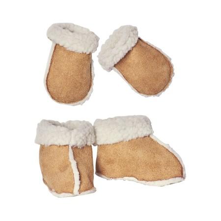 Zapatillas con guantes de lana  (Maxi)