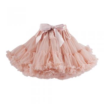 Falda tutú rosa ballet  talla 4-8
