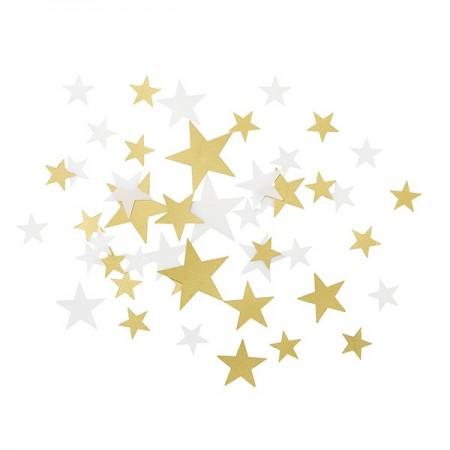 Confetti Gold Star