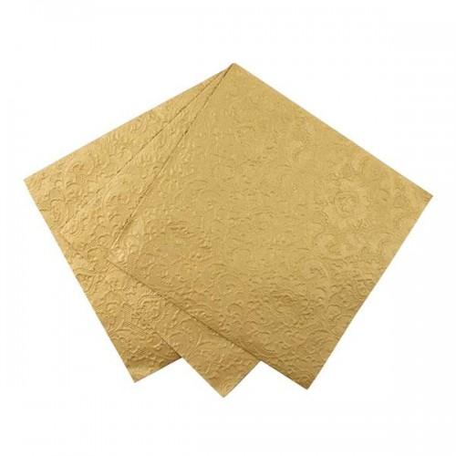 Servilletas de papel doradas(20u.)