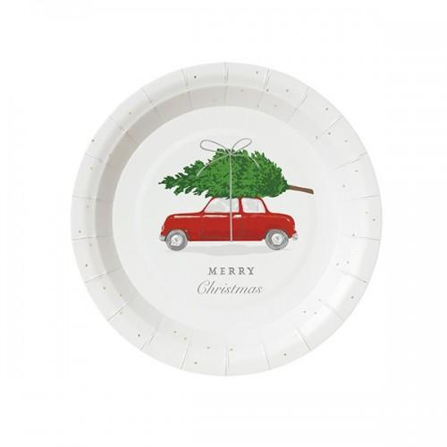 Botanical Berry Round Platek