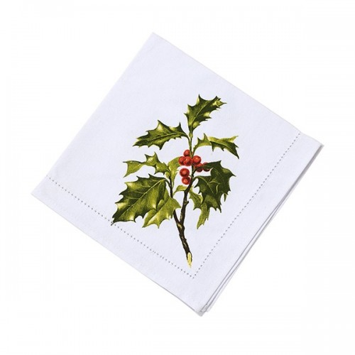 Botanical Christmas. Fabric Napkin 4PK