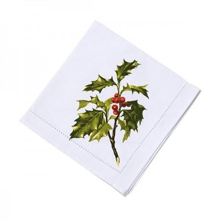 Servilletas de tela navidad Botanical (4u.)