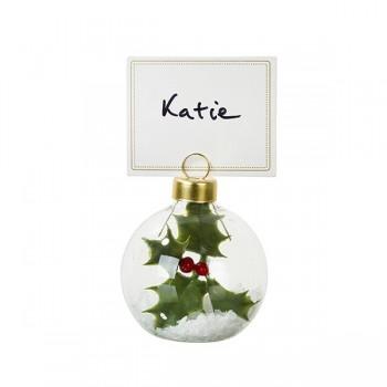Bola decoración Navidad, Botanical