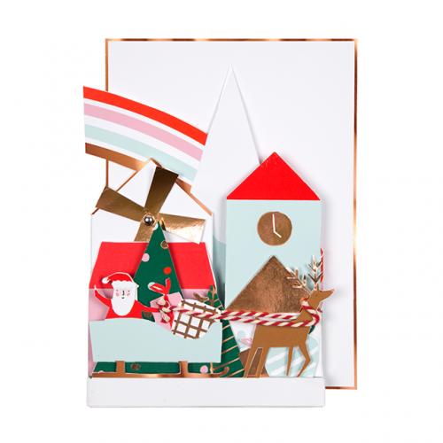 Village Concertina Card