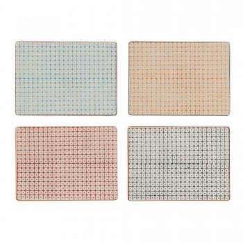 Plato de cerámica rectangular
