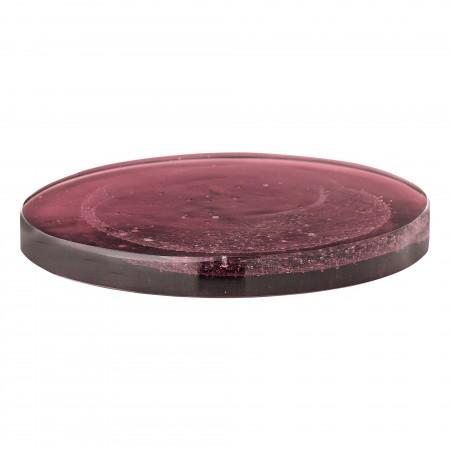 Tray, Purple, Glass