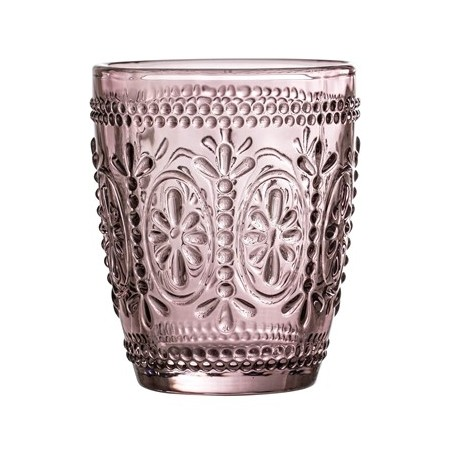 Vaso de cristal, púrpura