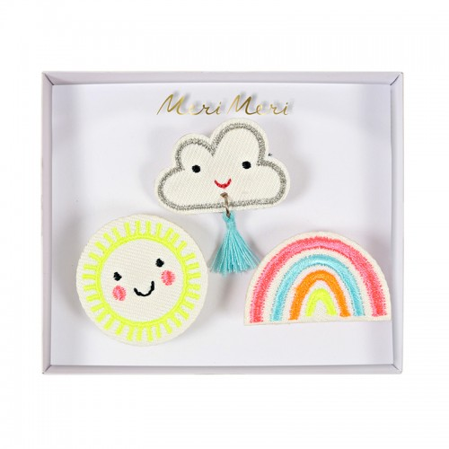 Weather Faces Brooches (3u.)