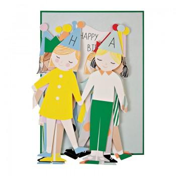 Concertina Children Card