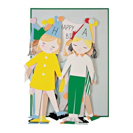 Tarjeta Deplegable Cumpleaños