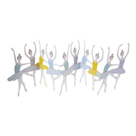 Targeta Desplegable Bailarinas