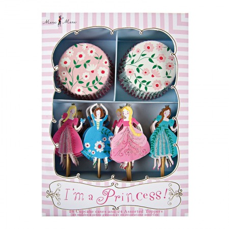 Cupcake Kit Soy Princesa (24u.)