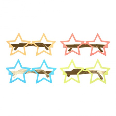 Star Paper Glasses (12u.)