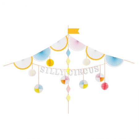 Silly Circus Garland Kit